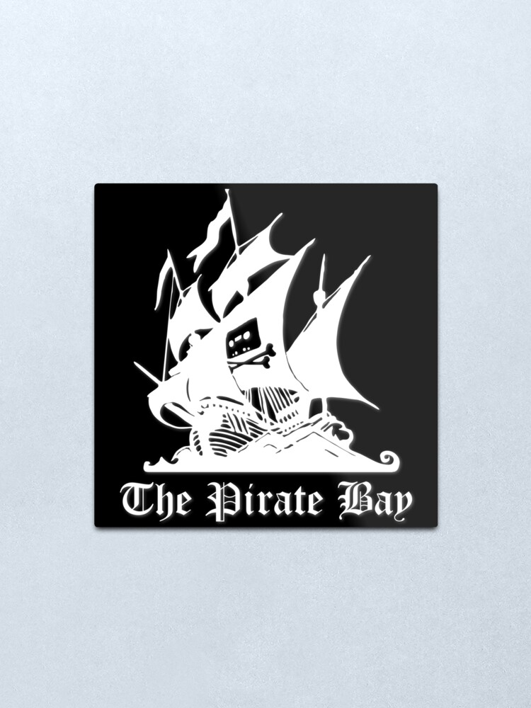 Alternate view of The Pirate Bay Metal Print