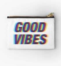 Good Vibes Techicolor Studio Pouch