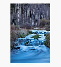 Blue Hour Streaming Photographic Print