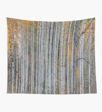 Beautiful Aspen Trees Wall Tapestry