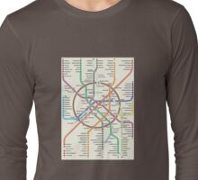 MOSCOW METRO Long Sleeve T-Shirt