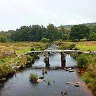 Postbridge, Dartmoor by Ludwig Wagner