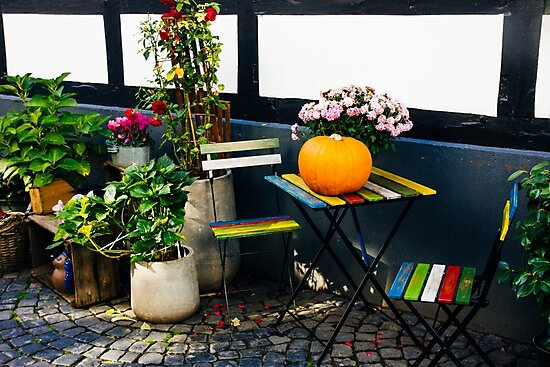 Colorful Chairs by PatiDesigns
