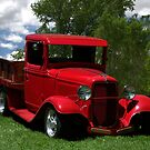1932 Ford Flatbed Pickup by TeeMack