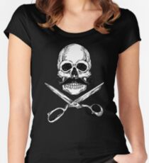 Barber Jolly Roger Women's Fitted Scoop T-Shirt