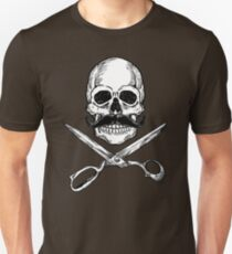 Barber Jolly Roger Unisex T-Shirt