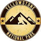 YELLOWSTONE NATIONAL PARK WYOMING MOUNTAINS HIKING CAMPING CLIMBING EXPLORE NATURE by MyHandmadeSigns