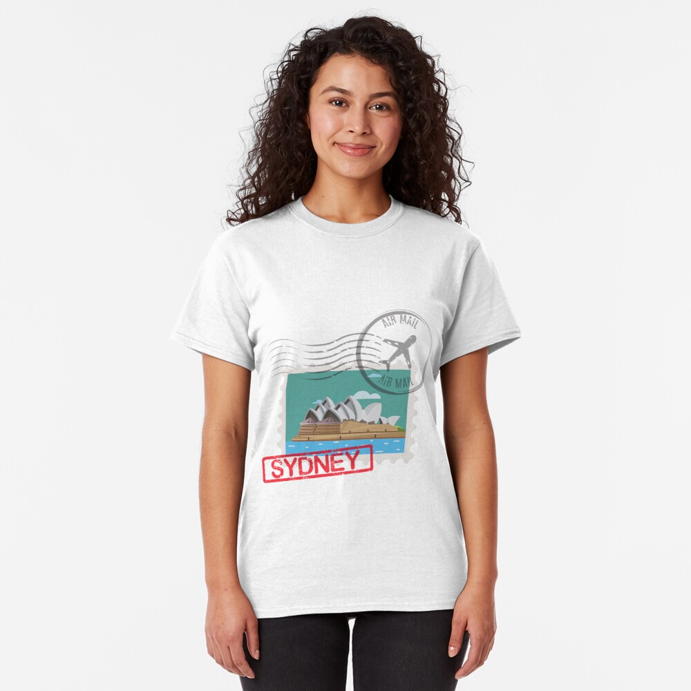 Sydney Stamps Classic T-Shirt