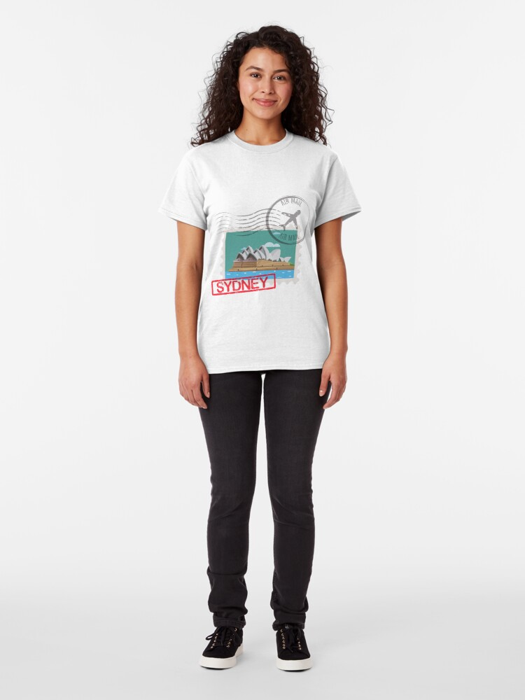 Alternate view of Sydney Stamps Classic T-Shirt