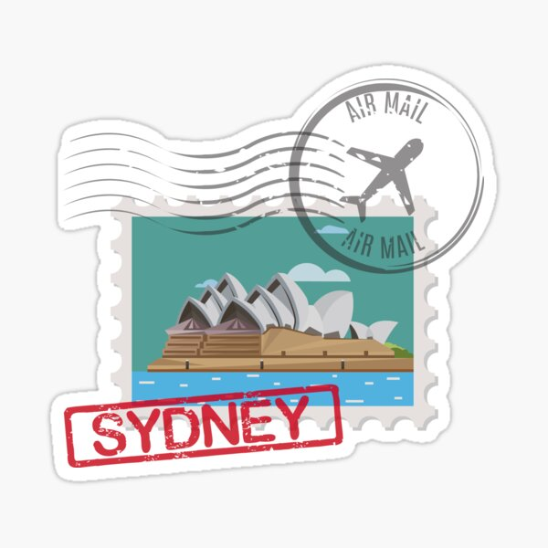 Sydney Stamps Sticker