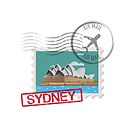 Sydney Stamps by creativelolo