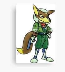 Fox McCloud Canvas Print