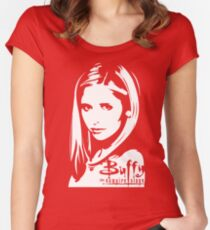The Real Slayer Women's Fitted Scoop T-Shirt