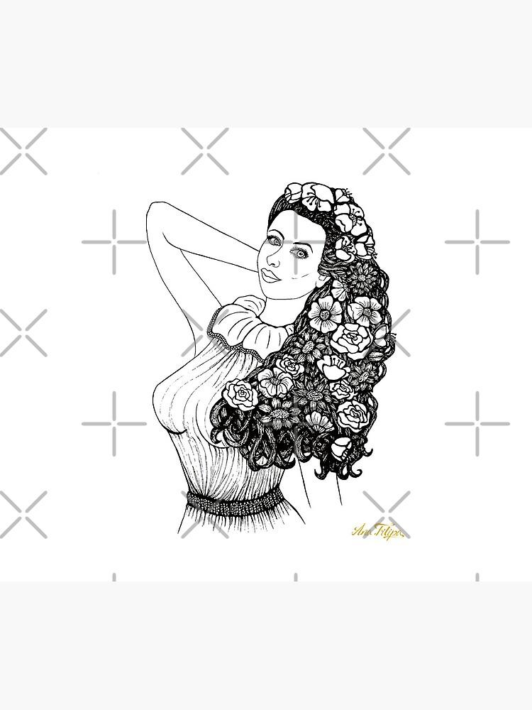 Flower girl by AnaFilipa