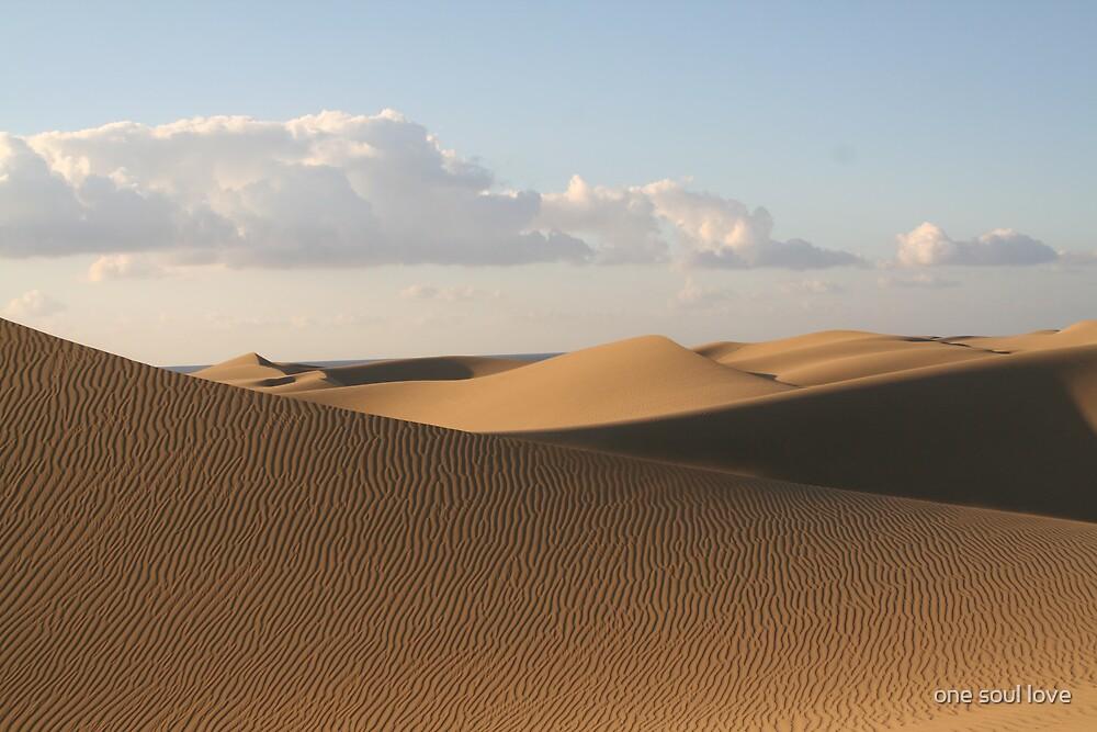 sand dunes  by chrisdade