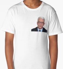 Anderson Cooper Eye Roll  Long T-Shirt