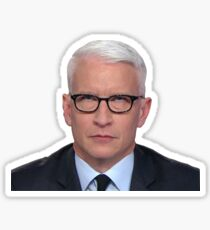 Anderson Cooper Eye Roll  Sticker