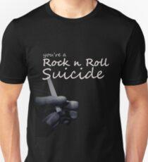 Rock n Roll suicide Unisex T-Shirt