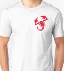 Abarth scorpion (red) Unisex T-Shirt