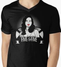 Five by Five Baby Mens V-Neck T-Shirt
