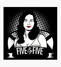 Five by Five Baby Photographic Print