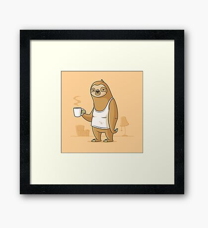 Monday Morning Depresso Framed Print