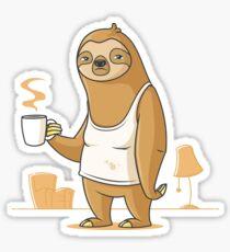 Monday Morning Depresso Sticker