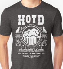 HOTD Classic White Slim Fit T-Shirt