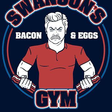 Swansons Bacon Gym by LgndryPhoenix