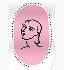 Pink Nadia Poster