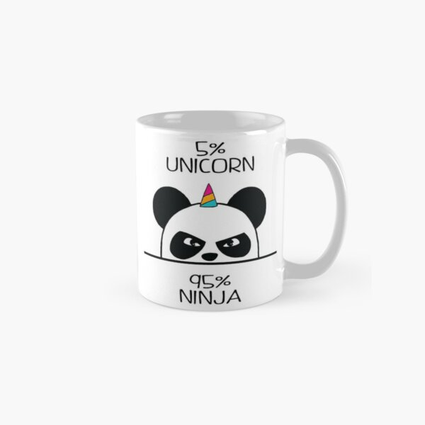 Unicorn Ninja Panda Classic Mug