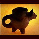 Mayan Jaguar Vessel by Richard G Witham