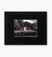 Il scatola segnale  (The signal box) Framed Print
