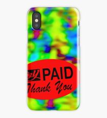 LIVING 2000 - PAID iPhone Case/Skin