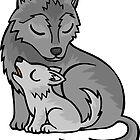 Mom Wolf  by WildSally