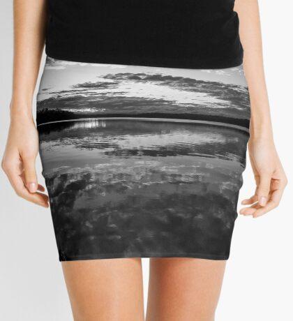 Sunset Clouds Mini Skirt