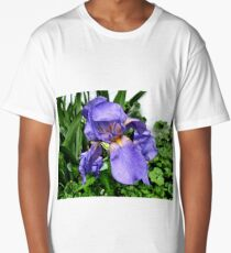 Bearded Iris Long T-Shirt