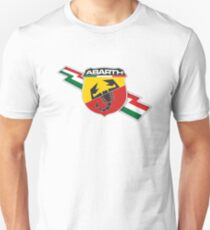 Camiseta unisex Abarth thunderbolt