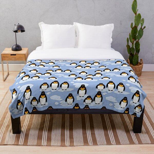Penguin Pattern Fleecedecke