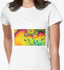 Colour mashup Womens Fitted T-Shirt