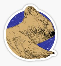 Sleeping Quokka Sticker