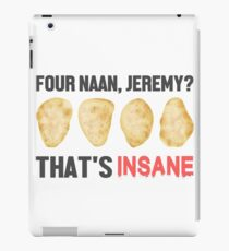 Four Naan? iPad Case/Skin