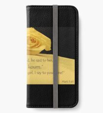 Little Girl Arise iPhone Wallet/Case/Skin