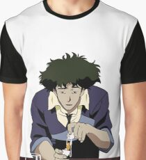 Spike Spiegel Hangover Graphic T-Shirt