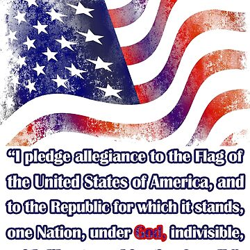 The Pledge of Allegiance  by ThreadsNouveau