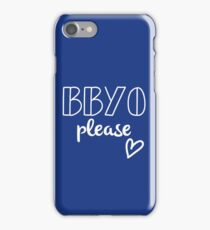 BBYO iPhone Case/Skin