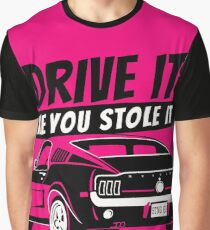 Drive it - fastback Graphic T-Shirt