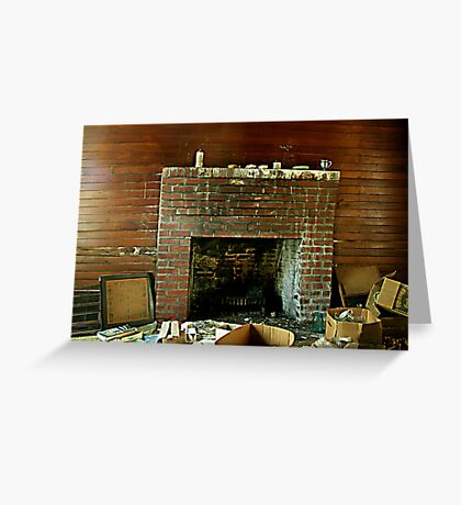 That Ol Fireplace Greeting Card