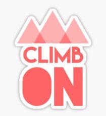Climb On Sticker