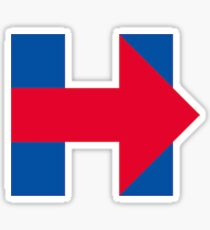 Pegatina Hillary Clinton